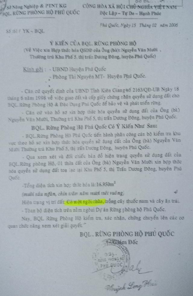 """Chủ tịch tỉnh Kiên Giang chỉ đạo làm rõ nghi án """"xẻo"""" gần 17.000m2 đất chùa ở Phú Quốc - 4"""