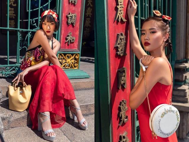 Xu hướng mới - Phối phụ kiện hiện đại cùng trang phục truyền thống - 1