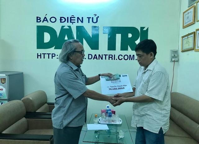 Trao hơn 30 triệu đồng đến anh Nguyễn Thành Hậu ở Vĩnh Long - 1