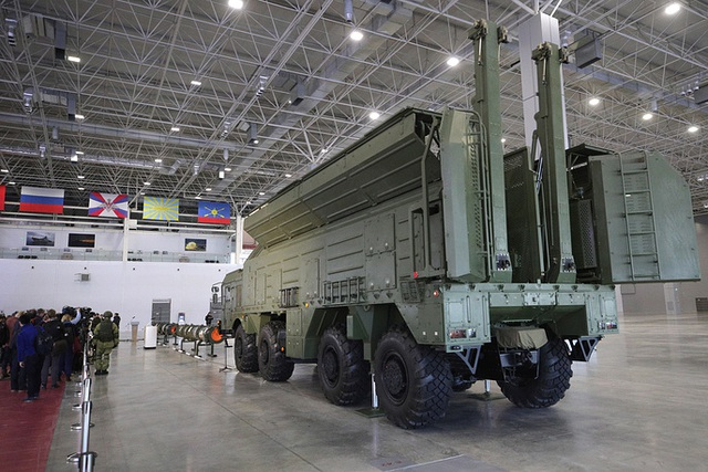 """Bị Mỹ đòi hủy tên lửa, Nga mở họp báo """"ba mặt một lời"""" - 2"""
