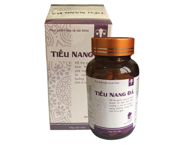 Tiêu Nang Đà – thực phẩm bảo vệ sức khỏe phụ nữ trước u xơ tử cung, u nang buồng trứng lành tính - 3