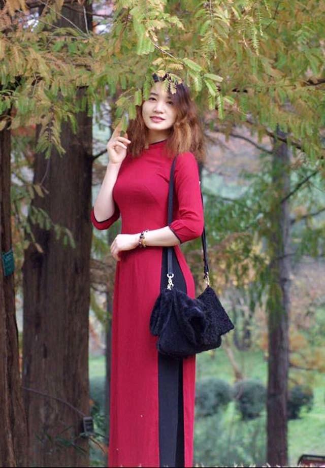 Hoa hậu áo dài Việt tại Nhật Bản dự đoán Công Phượng ghi bàn trong trận tứ kết - 6