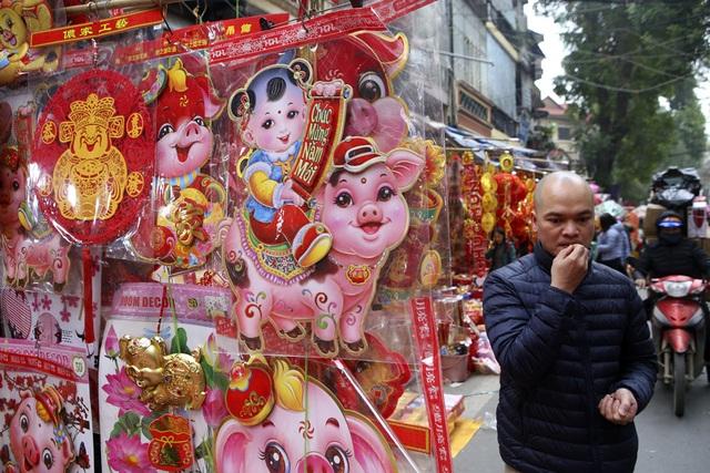 Chợ hoa phố cổ Hà Nội nhộn nhịp đón Tết - 2