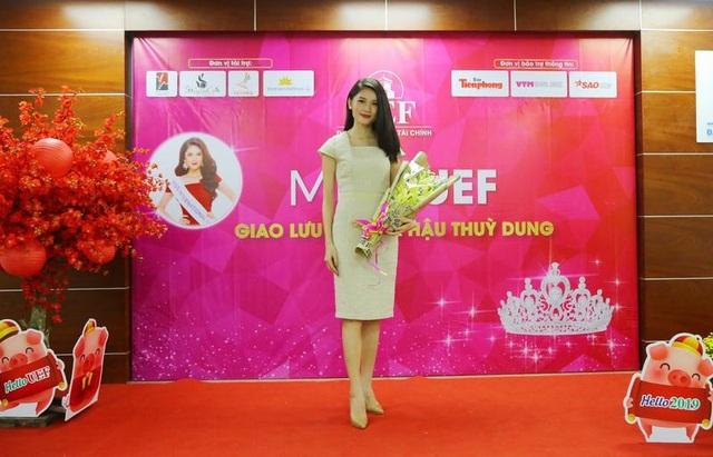 """Á hậu Thùy Dung xuất hiện nền nã trong chương trình """"tiếp lửa"""" cho Miss UEF 2019 - 3"""