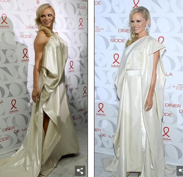 Pamela Anderson vẫn gợi cảm ở tuổi 52 - 6