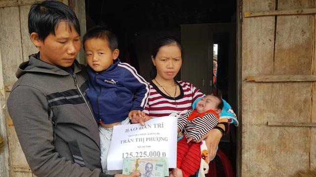 Bạn đọc giúp đỡ gia đình bị trời đày hơn 125 triệu đồng - 2