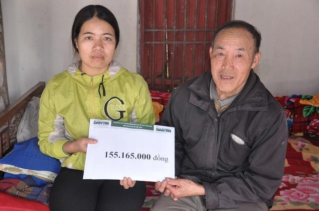 Bạn đọc giúp gia đình em Bùi Thị Huệ hơn 155 triệu đồng - 2