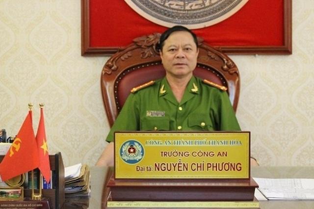 Tước quân tịch Trưởng Công an thành phố Thanh Hóa  - 1