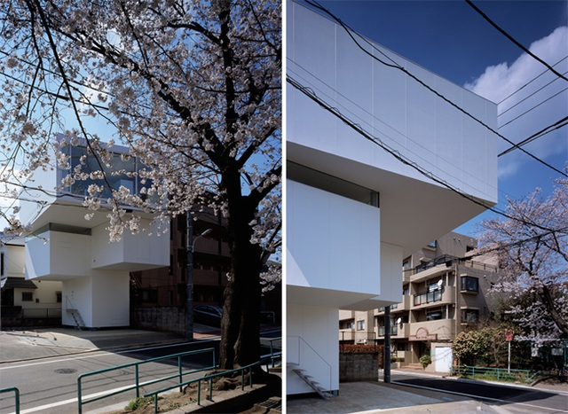 Những căn nhà siêu dị nhưng vẫn đẹp rụng rời nhìn là biết chỉ có thể là Nhật Bản - 14..jpg