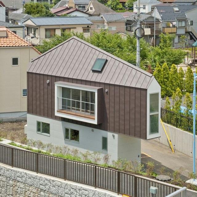 Những căn nhà siêu dị nhưng vẫn đẹp rụng rời nhìn là biết chỉ có thể là Nhật Bản - 3..jpg