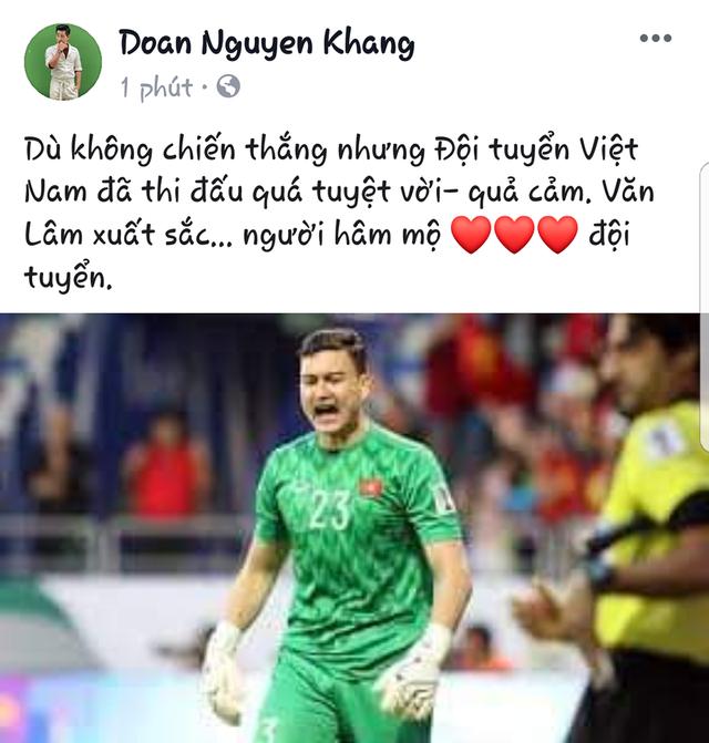 Sao Việt dành nhiều lời khen cho đội tuyển Việt Nam dù không được vào Bán kết - 3