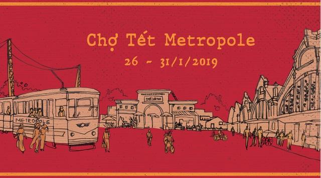 """Bước lên chuyến tàu điện """"leng keng"""" tới Chợ Tết 2019 - 1"""