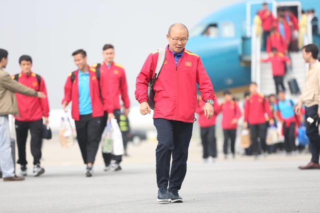 Đội tuyển Việt Nam được vinh danh ở sân bay Nội Bài - 3