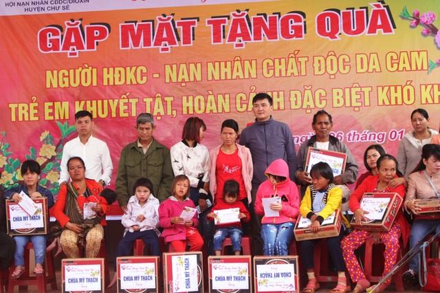 Báo Dân trí mang Xuân ấm đến với người nghèo tỉnh Gia Lai - 1