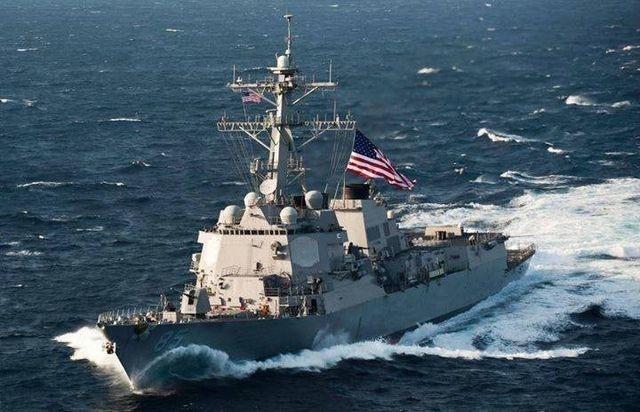 Trung Quốc cảnh báo Mỹ vụ hai tàu chiến đi qua eo biển Đài Loan - 1