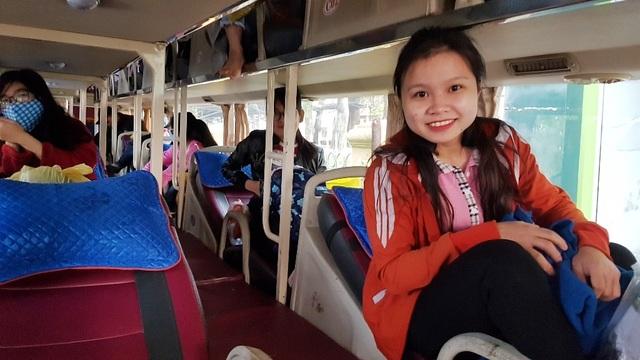 Sinh viên Nông lâm được tặng trứng gà kèm chuyến xe về quê đón Tết - 10
