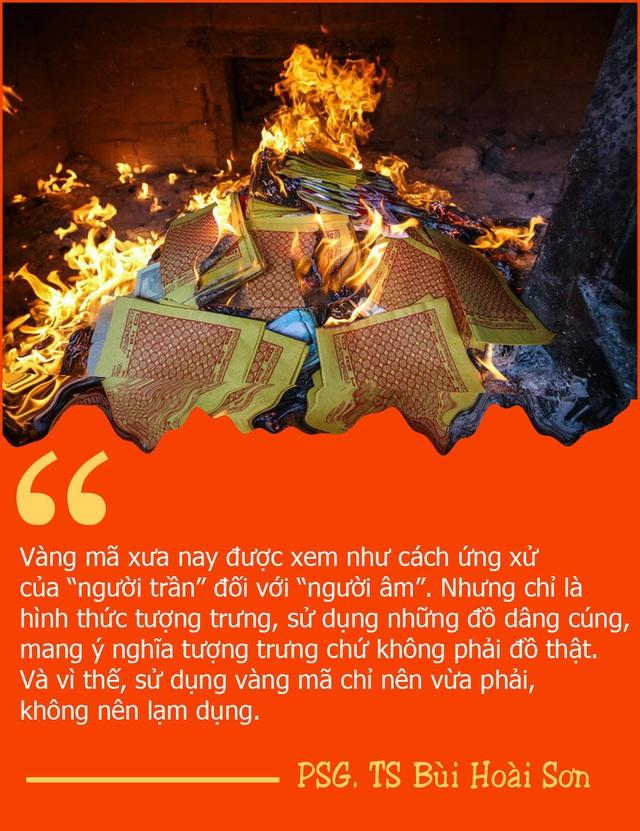Suy nghĩ về văn hóa đốt vàng mã và văn hóa trong hài Tết... - 2