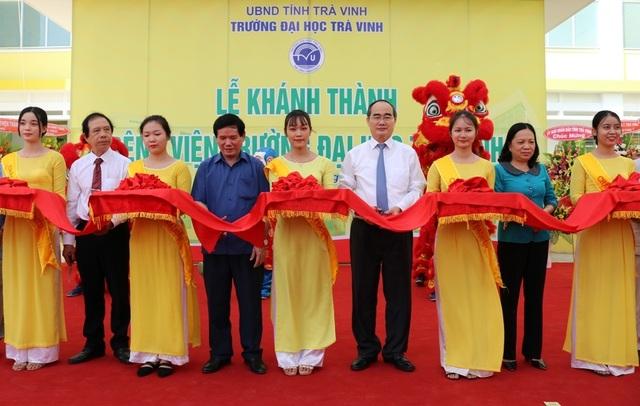 Trường ĐH Trà Vinh khánh thành bệnh viện - 1