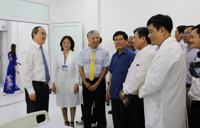 Trường ĐH Trà Vinh khánh thành bệnh viện - 2