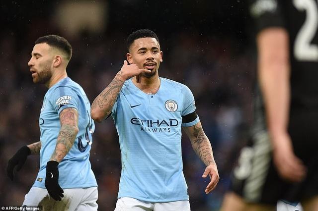Vùi dập Burnley, Man City tiến bước vào vòng 5 FA Cup - 1