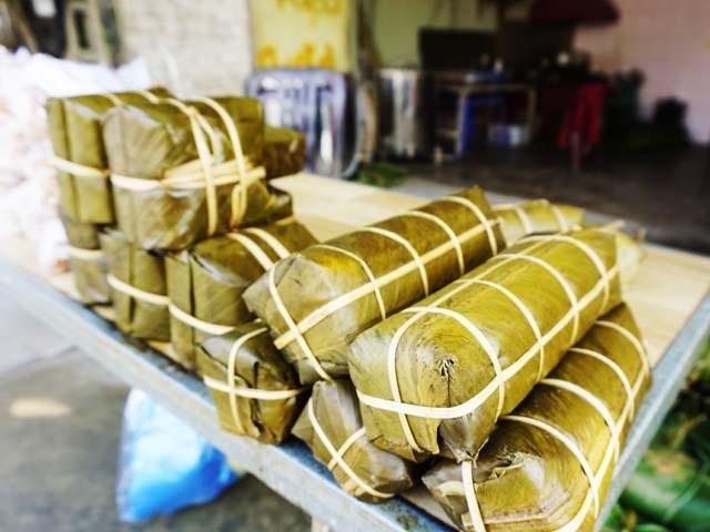 Làng bánh chưng Vĩnh Hòa: Mỗi ngày chợp mắt 2 tiếng để kịp giao hàng  - 8