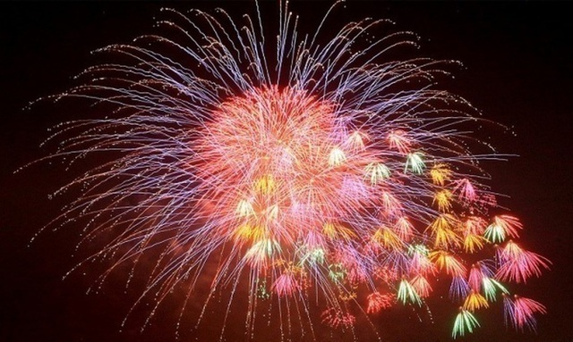 Put fireworks on the eve of the eve on the eve from 21:00 to 2:00