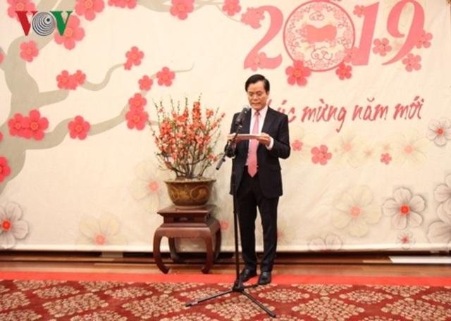 Đại sứ quán Việt Nam tại Mỹ tổ chức Tết Cộng đồng mừng Xuân Kỷ Hợi - 1