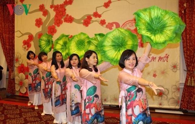 Đại sứ quán Việt Nam tại Mỹ tổ chức Tết Cộng đồng mừng Xuân Kỷ Hợi - 2