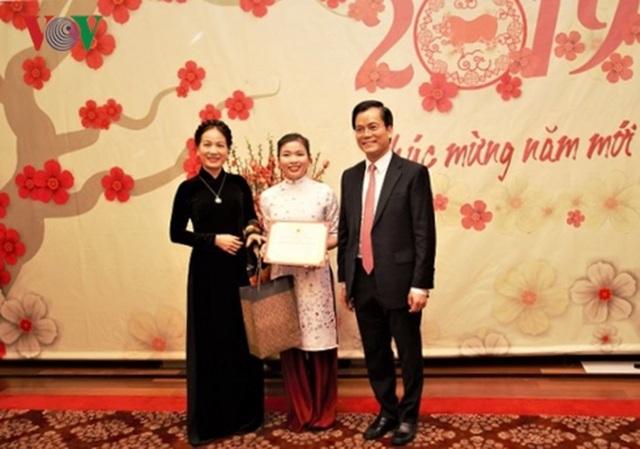 Đại sứ quán Việt Nam tại Mỹ tổ chức Tết Cộng đồng mừng Xuân Kỷ Hợi - 3