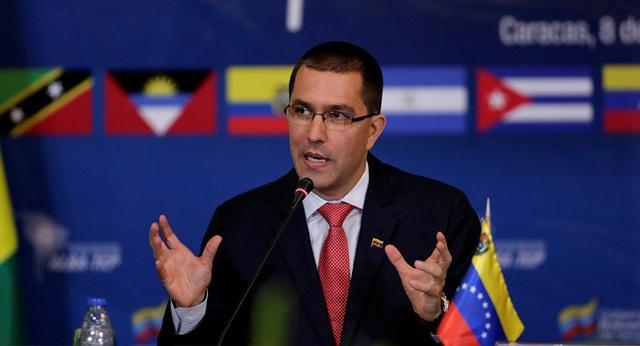 """Ngoại trưởng Venezuela """"tố"""" Mỹ đứng sau âm mưu đảo chính - 1"""