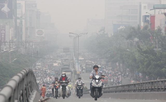 Hà Nội: Chỉ số ô nhiễm không khí ở mức có hại cho sức khoẻ - 2