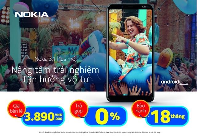 """Bất ngờ với mức giá Nokia 3.1 Plus ưu đãi """"khủng"""" dịp tết  - 5"""