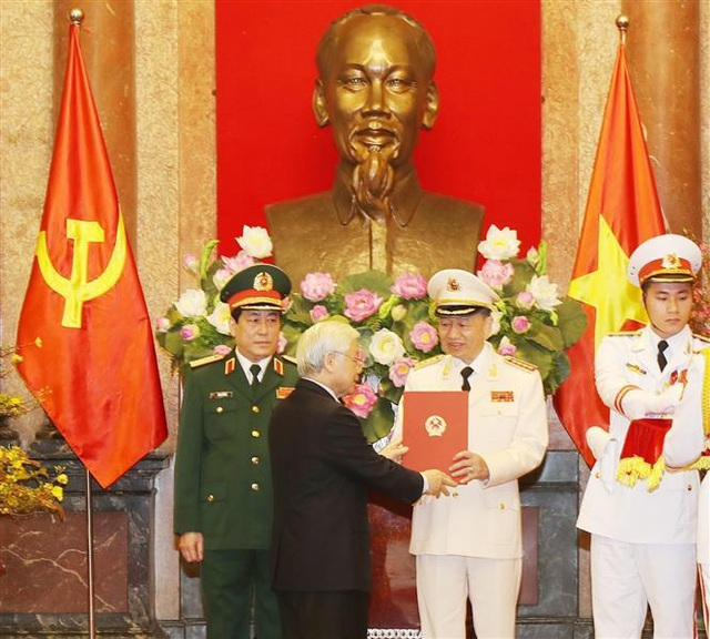 Bộ trưởng Công an Tô Lâm được thăng quân hàm Đại tướng - 1