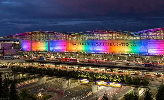 14 sân bay tuyệt đẹp trên thế giới - 28