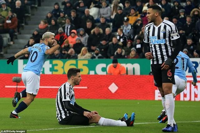 Newcastle 2-1 Man City: Cú ngã bất ngờ - Ảnh minh hoạ 2