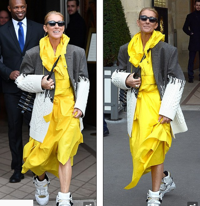 Celine Dion liên tục gây ấn tượng với thời trang khác lạ - 2