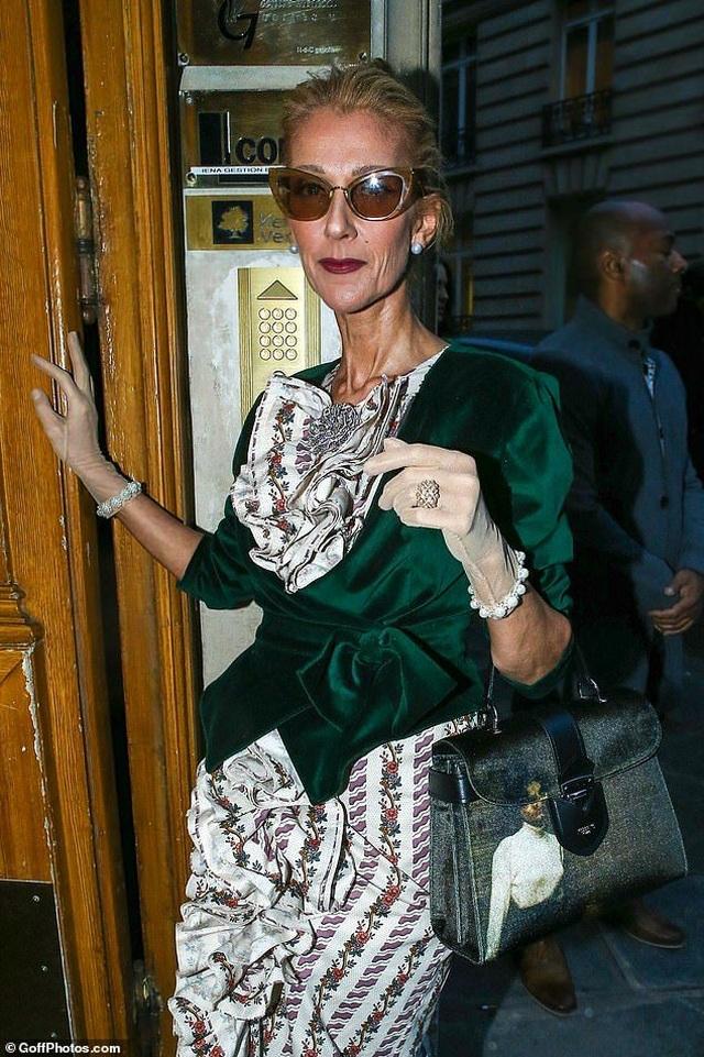 Celine Dion liên tục gây ấn tượng với thời trang khác lạ - 5