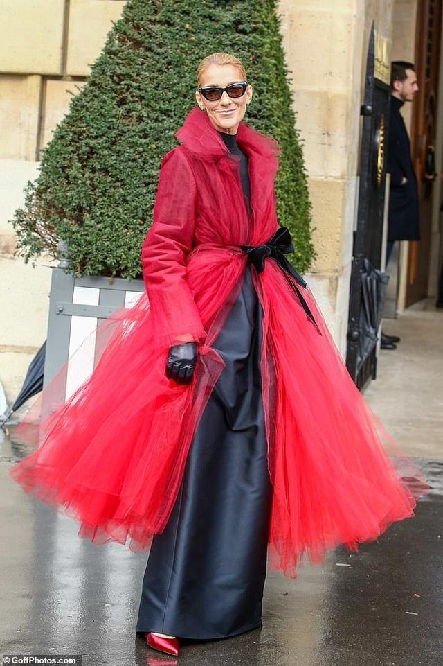 Celine Dion liên tục gây ấn tượng với thời trang khác lạ - 10