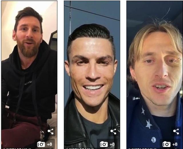 Lộ danh tính cổ động viên may mắn được cả Messi và C.Ronaldo chúc mừng - 3