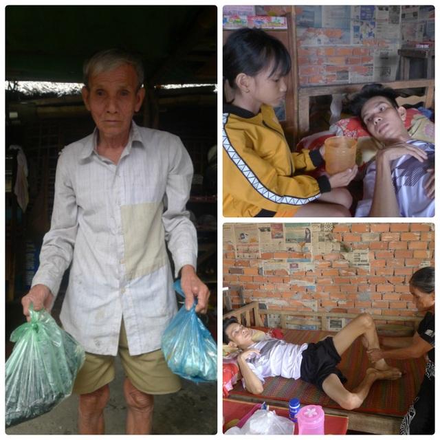 """Bạn đọc hỗ trợ """"nóng"""" 5 triệu đồng giúp anh Trần Văn Trình có cái tết đầm ấm - 1"""