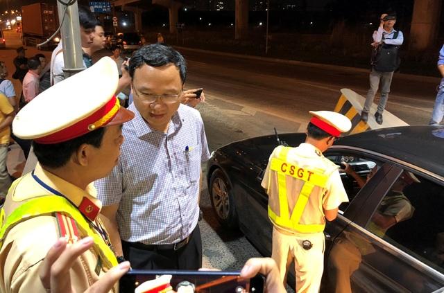 Phó Chủ tịch Ủy ban ATGT Quốc gia nửa đêm đi bắt tài xế say xỉn - 2