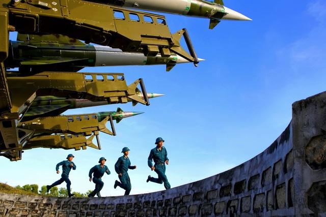 Sẵn sàng chiến đấu ở Tiểu đoàn 114, Trung đoàn 274.JPG