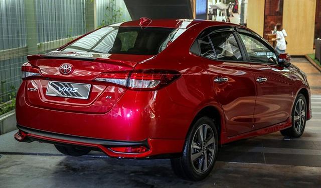 Toyota Vios 2019 đã có mặt tại thị trường ASEAN  - 4