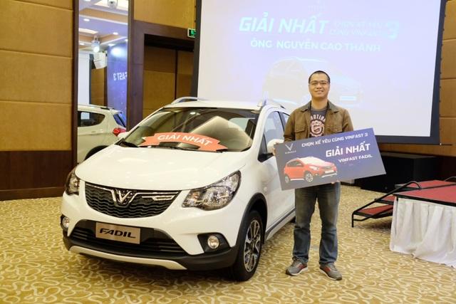 VinFast tổ chức trao tặng xe cho người thắng cuộc Chọn xế yêu cùng VinFast - 3 - 1
