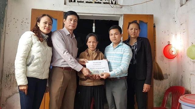 Hơn 38 triệu đồng đến với cụ bà Phạm Thị Ốc - 1
