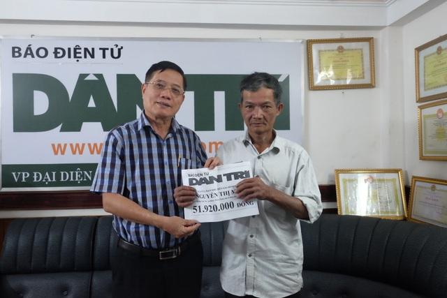 Hơn 51 triệu đồng đến với gia đình chị Nguyễn Thị Miên - 1