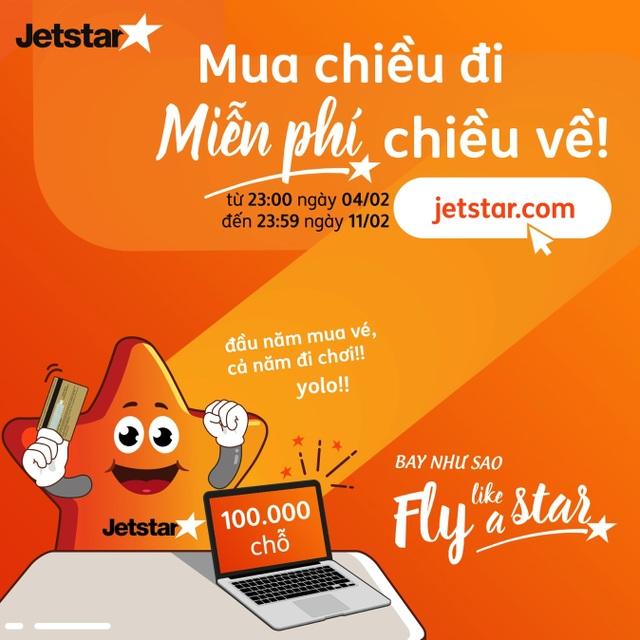Jetstar Pacific mở bán hàng trăm nghìn vé 0 đồng đón giao thừa 2019 - 1