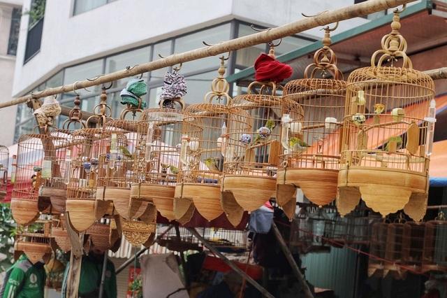 Khám phá chợ chim độc đáo, lớn nhất Hà Nội ngày cuối năm - 1