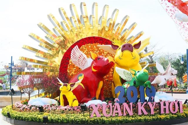 Phát cuồng với những góc check-in đẹp mộng mị tại Lễ hội hoa xuân Sun World HaLong Complex - 2