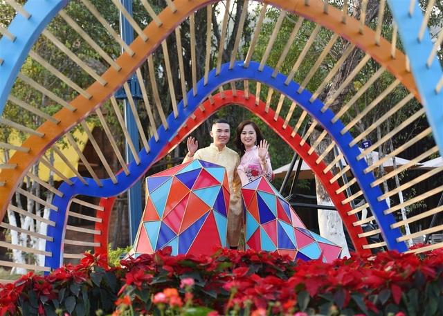 Phát cuồng với những góc check-in đẹp mộng mị tại Lễ hội hoa xuân Sun World HaLong Complex - 5